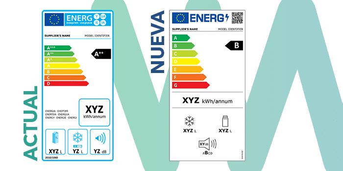 Comparativa nuevas etiquetas eficiencia energética