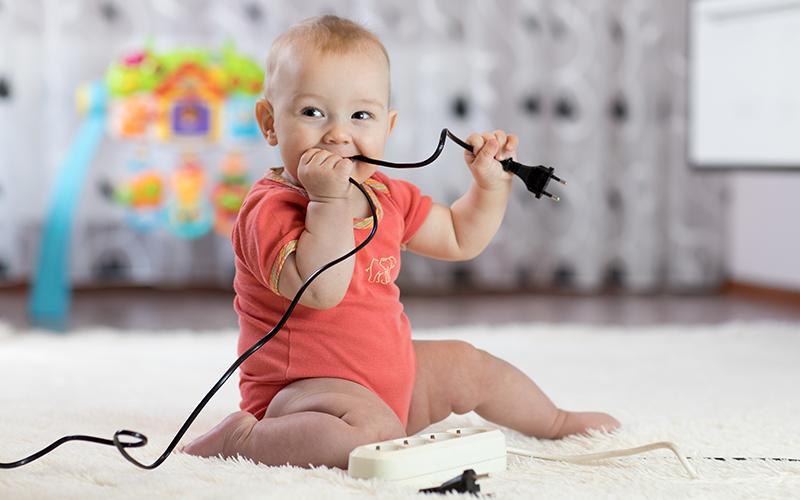 Electricidad para niños: riesgos y precauciones