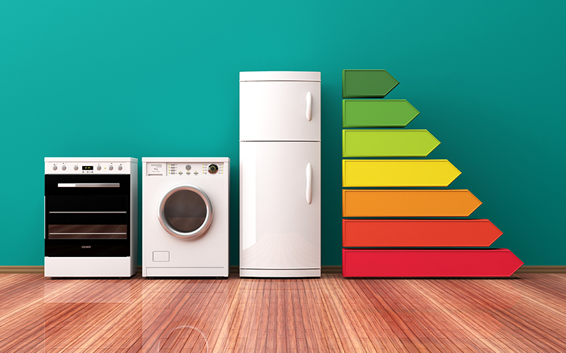 Electrodomésticos: etiqueta de eficiencia energética