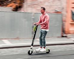 Movilidad eléctrica con patinetes electricos